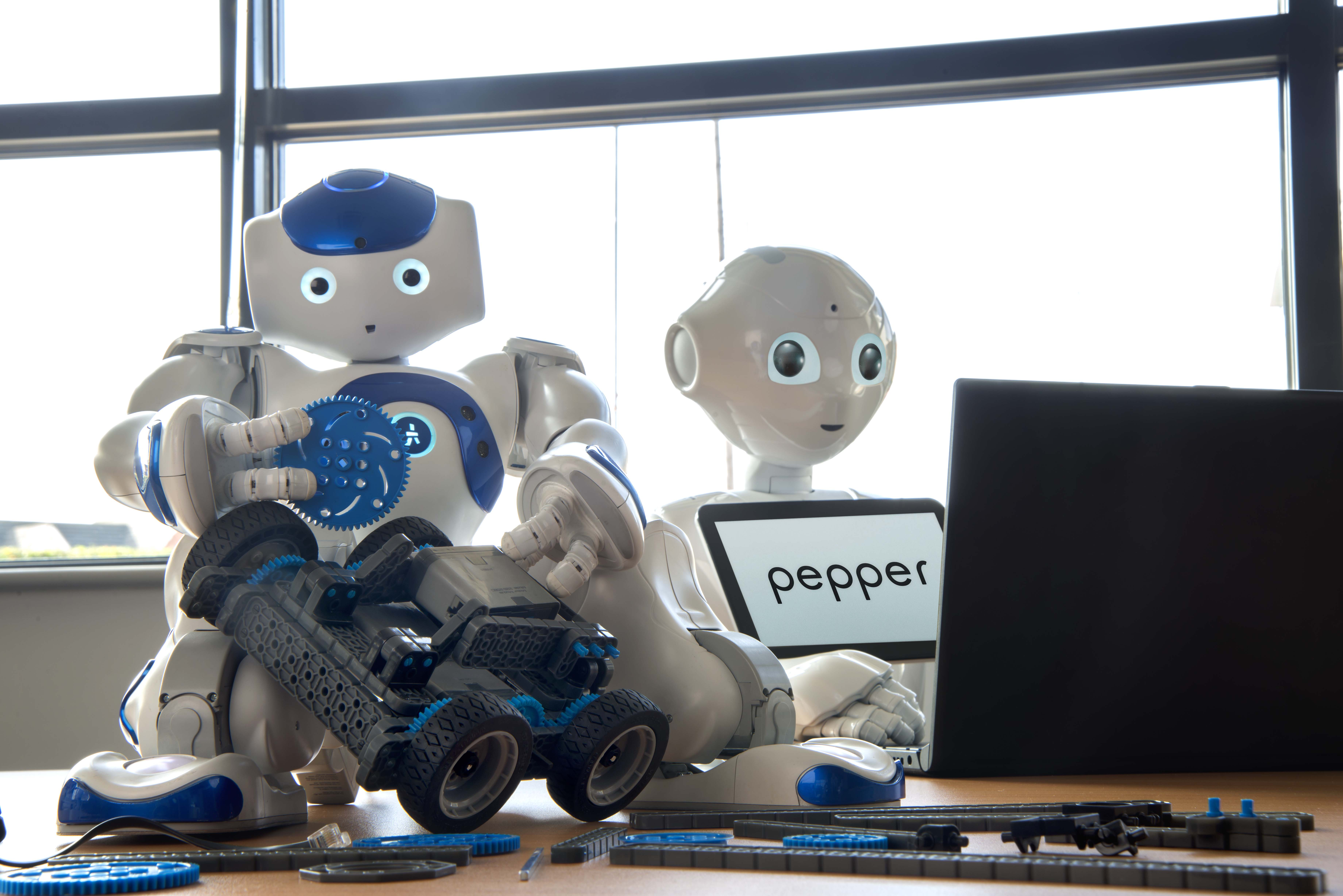 Pepper and NAO