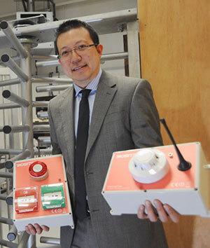 Biosite's Managing Director Li Wang
