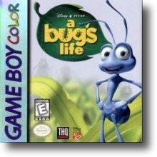 Game Boy Colour A Bug's Life box