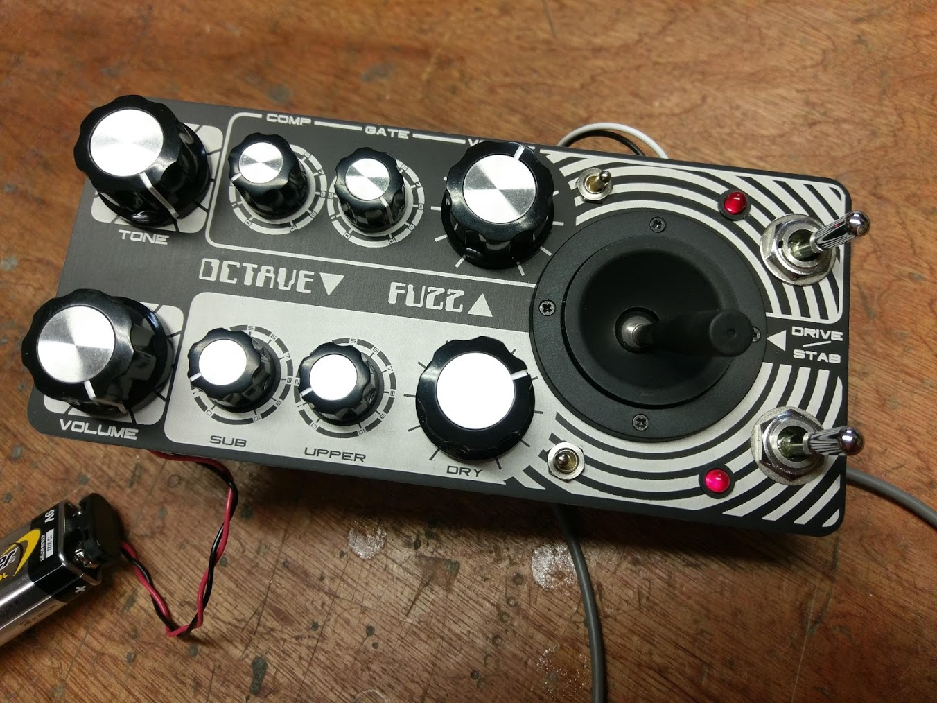 Custom-made effects pedal