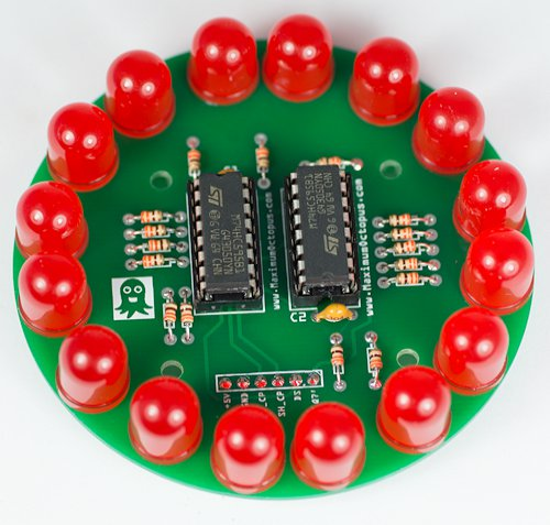 LED Circle Shift Register Maximum Octopus Kit