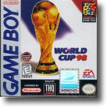 Game Boy World Cup 98 box
