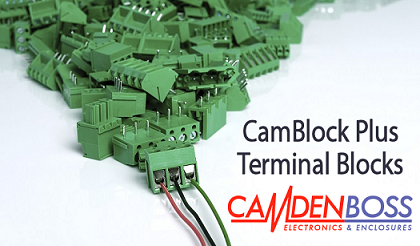 Rapid extend range of CamBlock Plus terminal blocks