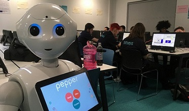 Pepper in the groove at UTC Leeds