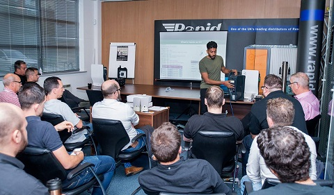 Rapid and Schneider start training sessions for EV charging installers