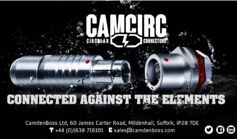 CamCirc connectors take on the elements