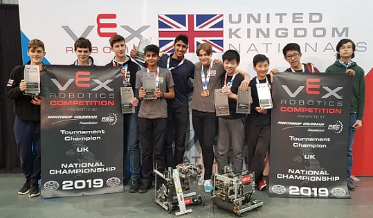 The Best in the West: VEX VRC and VEX IQ UK Championships