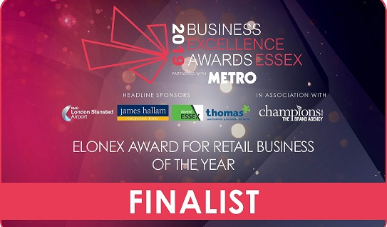 Triple nomination for Rapid in Business Excellence Awards Essex