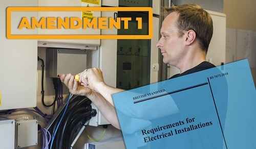 What Does BS7671 Amendment 1 mean for Electricians & EV Charging Point manufacturers?