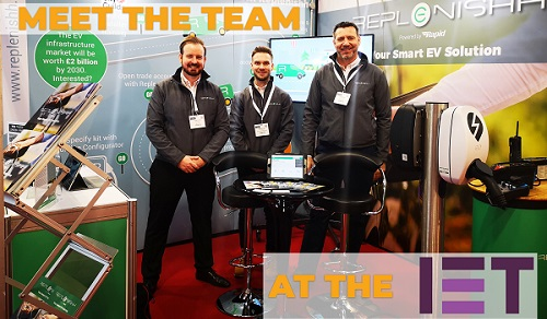 Meet the Replenishh team at the IET!
