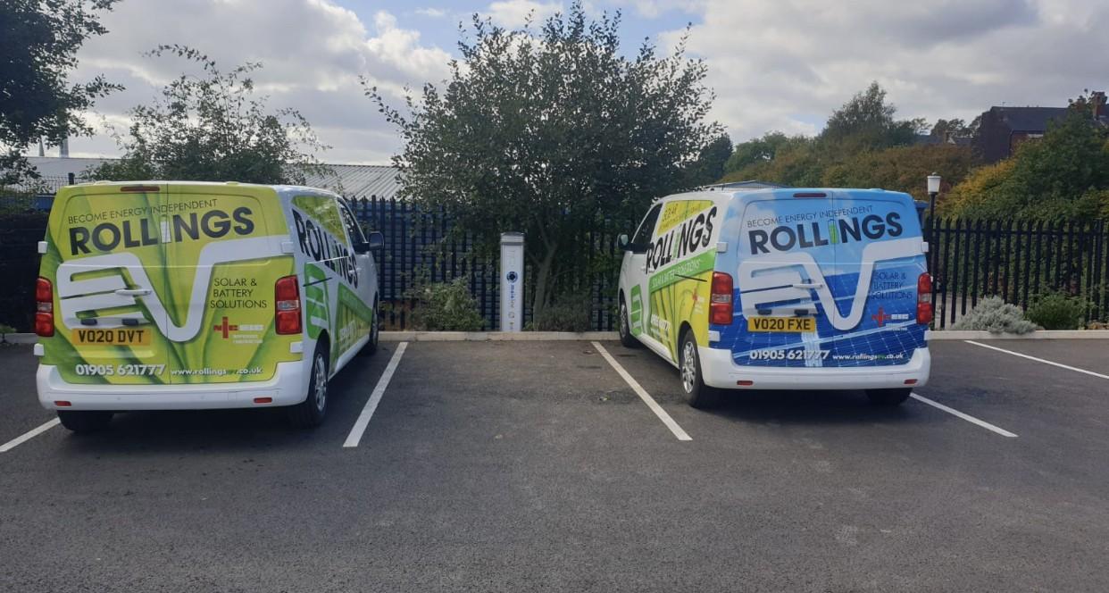 Rollings EV Vans