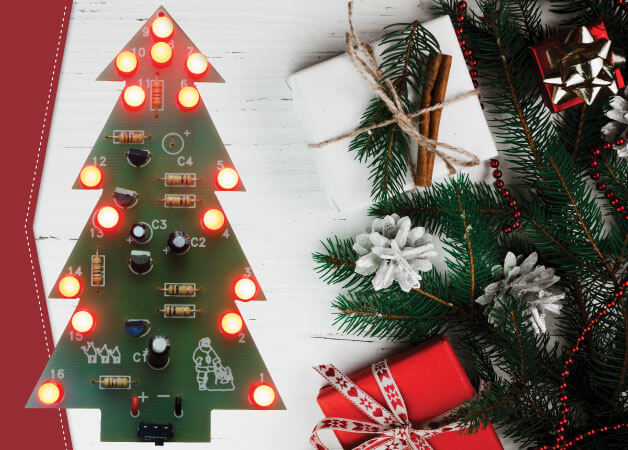 Rapid LED Christmas Tree Project Class Pack of 30