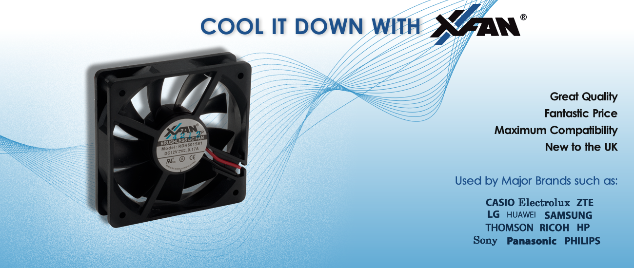X-Fan Your Ideal Source of Cooling Fans